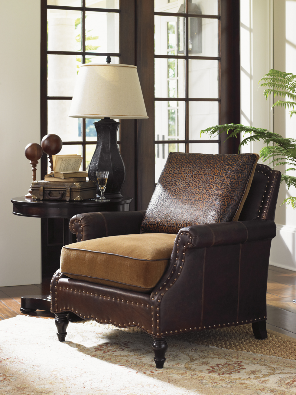 Living Room Furniture - Mixing Leather and Fabric ...